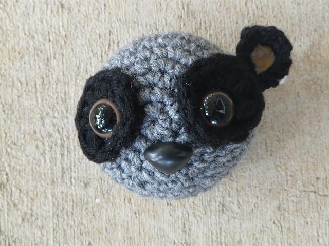 crochetbug, crochet lemur, amigurumi lemur, crochet toy, diy toy, zoboomafoo