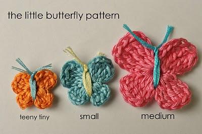 little butterfly pattern