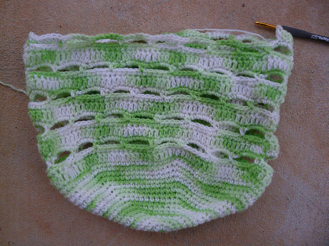 crochet stash basket crochet bag