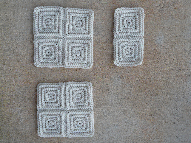 crochetbug, textured crochet squares, textured crochet afghan, textured crochet throw, textured crochet blanket