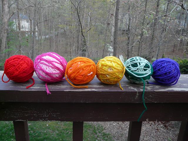 crochetbug, crochet, crocheted, crocheting, yarn scraps