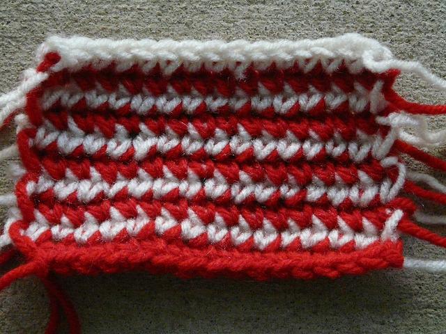 single crochet without turning