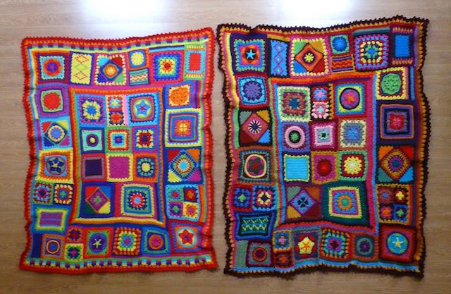 crochet granny square beach blanket, crochetbug, crochet squares, granny squares