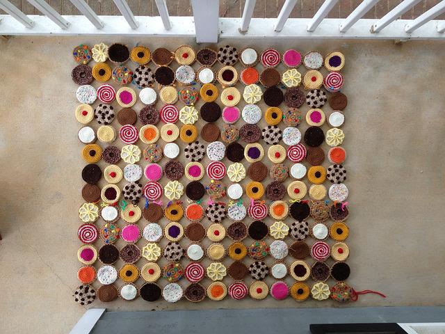 cookie crochet blanket