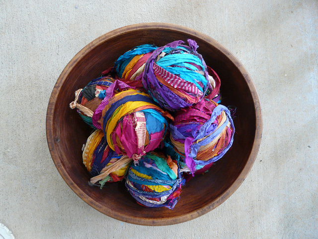 sari ribbon strips