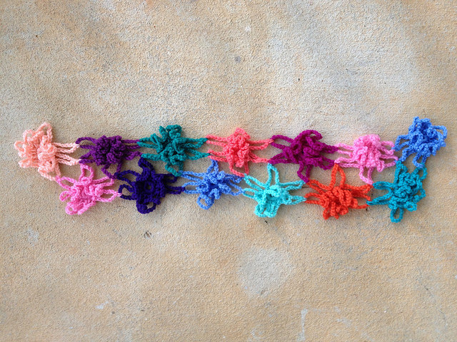 crochetbug, crochet motif, crochet flower motif, floral crochet motif, crochet shawll