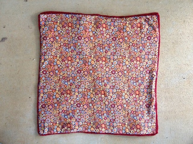 The future crochet fat bag with the lining sewn in
