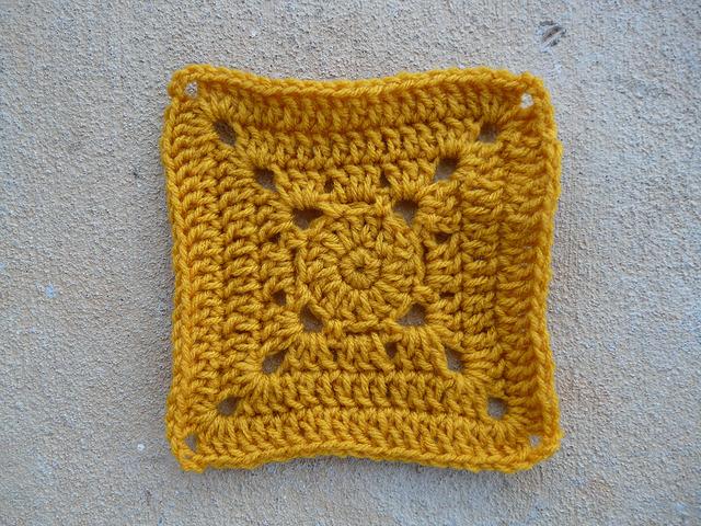companion crochet square