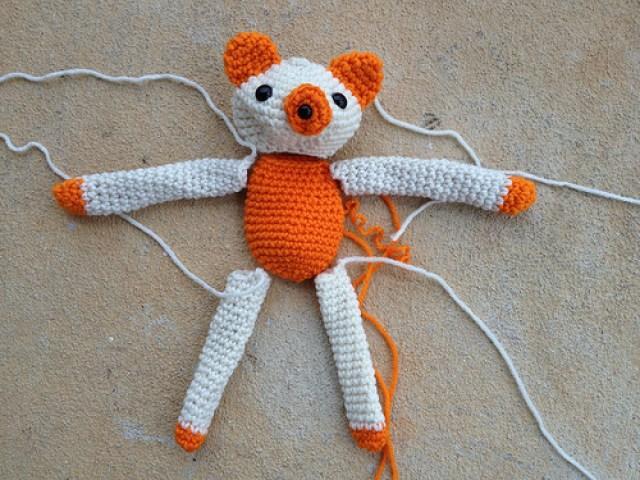 crochetbug, crochet bear, amigurumi bear, narumi ogawa, crochet toys