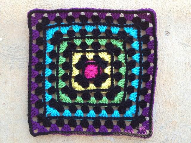granny square crochet variation