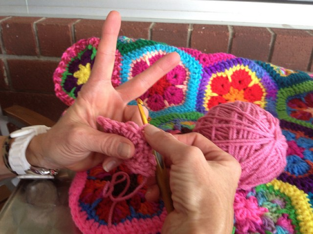 Peace, love, and crochet!