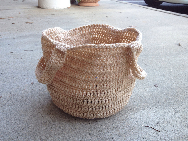crochet bag, crochet tote