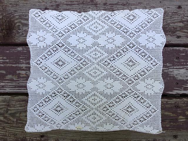 filet crochet square
