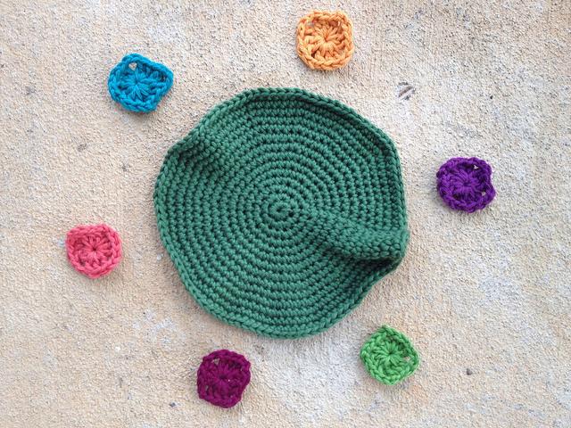 Future granny square hat