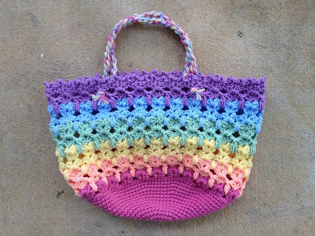 crochet cat bag crochet cat tote