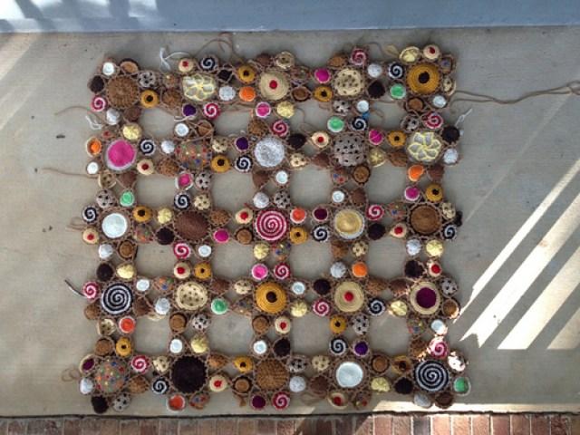 crochet cookie motifs for a crochet afghan