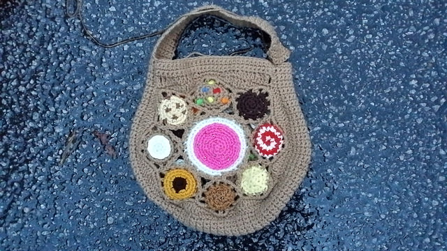 crochet cookie crochet purse