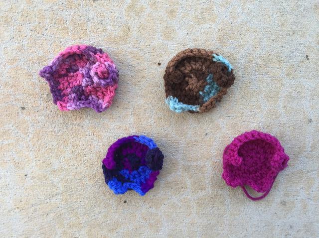 crochet elephants