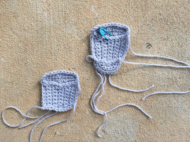 water tumbler crochet motif