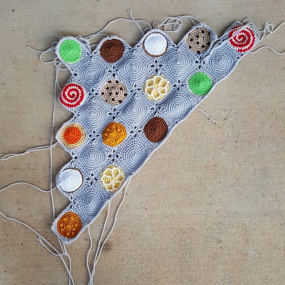 joining crochet squares for a crochet blanket