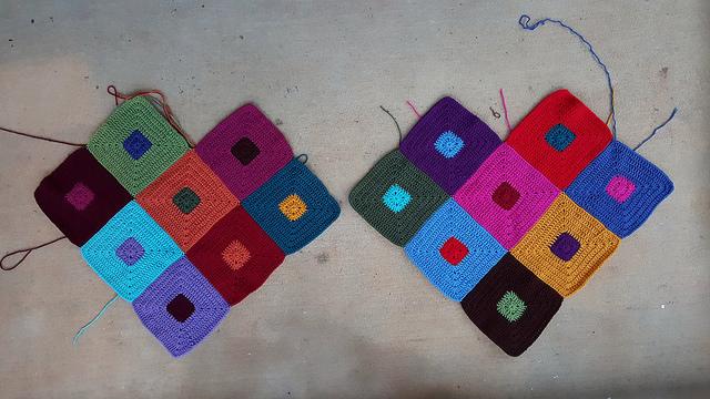 future crochet poncho