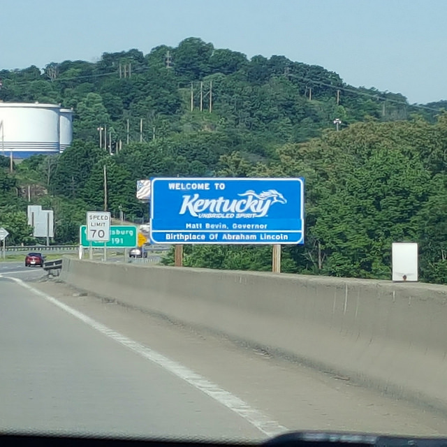 Kentucky state line