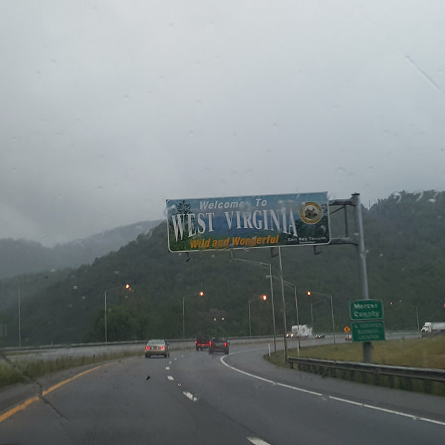 West Virginia state line