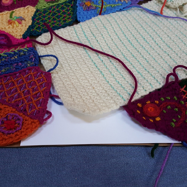 template for crochet pieces