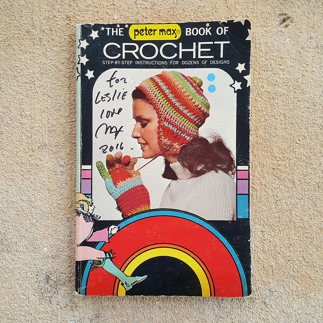 Peter Max crochet book