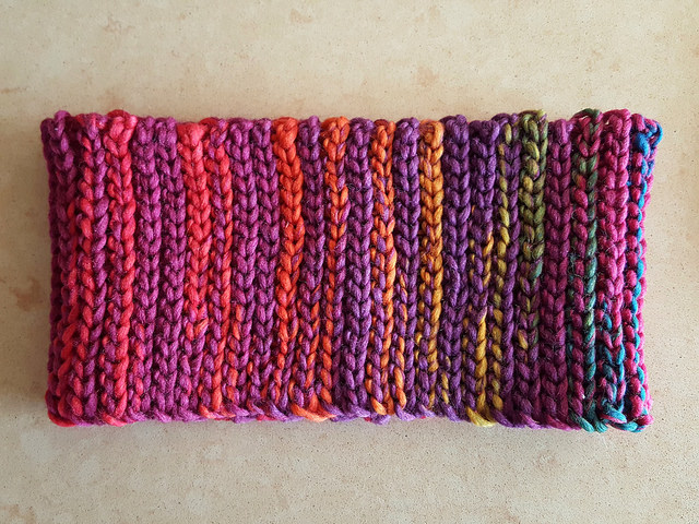 slip stitch crochet ear warmer