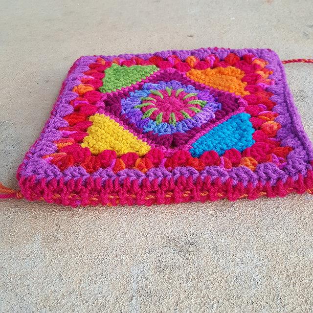 crochet gusset detail