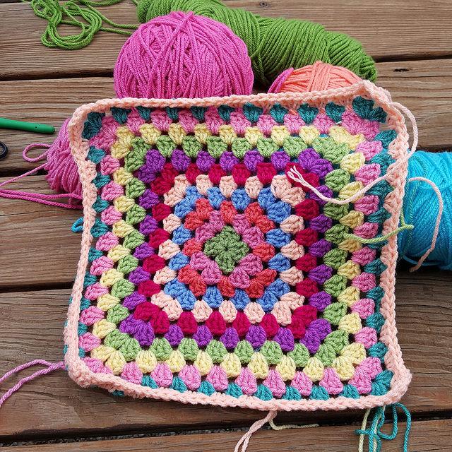 plein air crochet