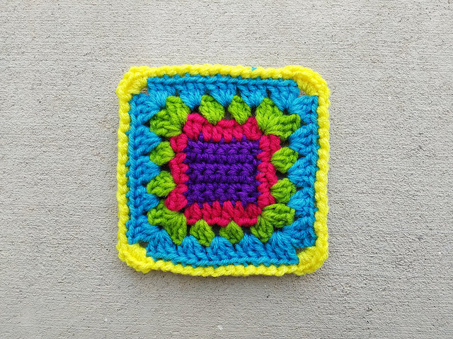 Another rehabbed crochet remnant ready for adventure