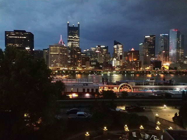 Pittsburgh, Pennsylvania on the Fourth of July 2018