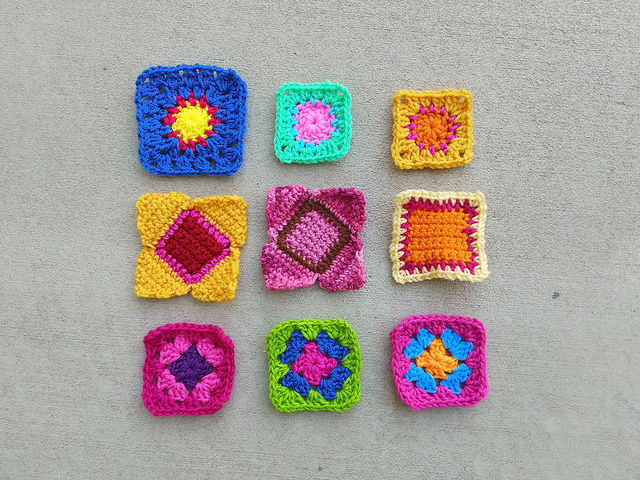 The second round of rehab for nine crochet remnants