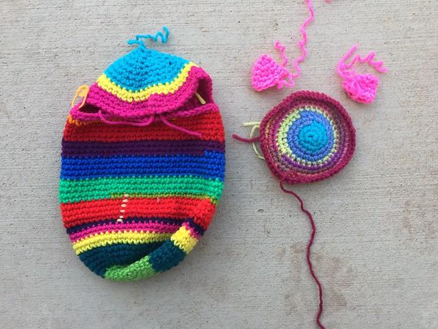 A future crochet kitchen monster