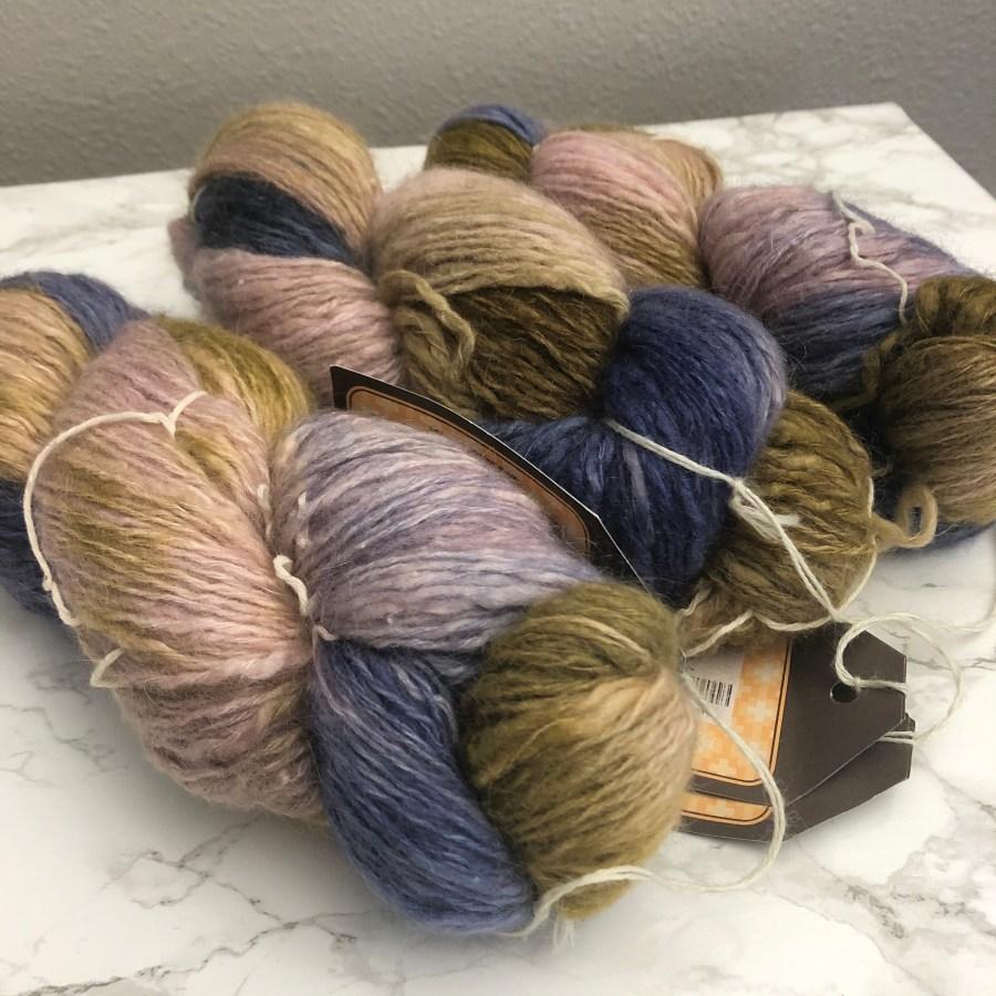 curated yarn stash