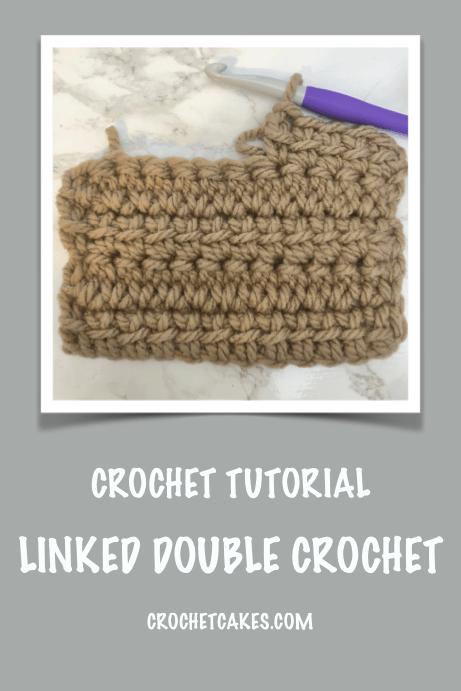 linked double crochet stitch tutorial