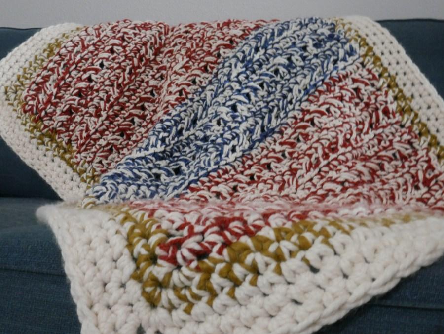 extra cozy crochet blanket