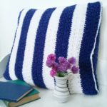 Stars and Stripes Free Crochet Pillow Pattern - Crochet Cloudberry