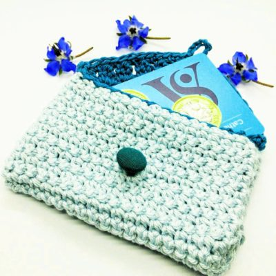 Coin and Card Purse - Free Crochet Pattern - Crochet Cloudberry