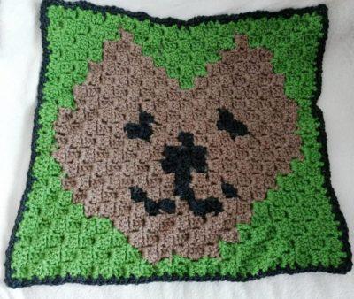 Free crochet cat afghan pattern | 338x400