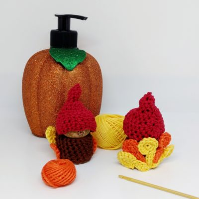 Crochet Turkey Gnome - Free Crochet Pattern - Crochet Cloudberry