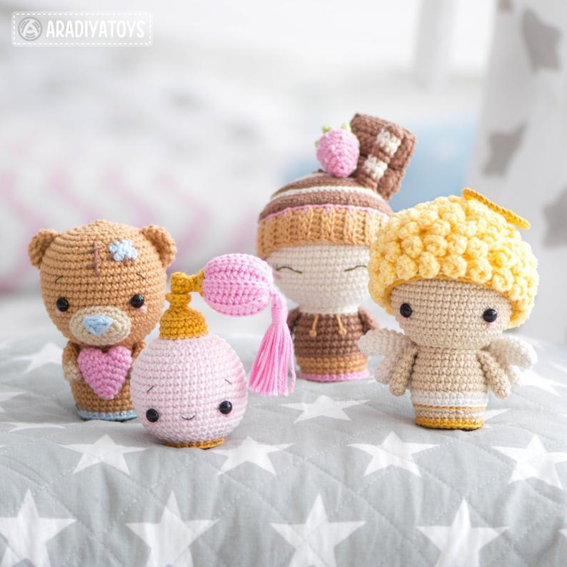 Valentine Minis set