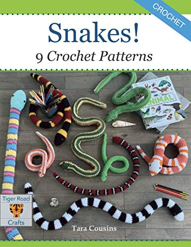 Snakes! 9 Crochet Patterns
