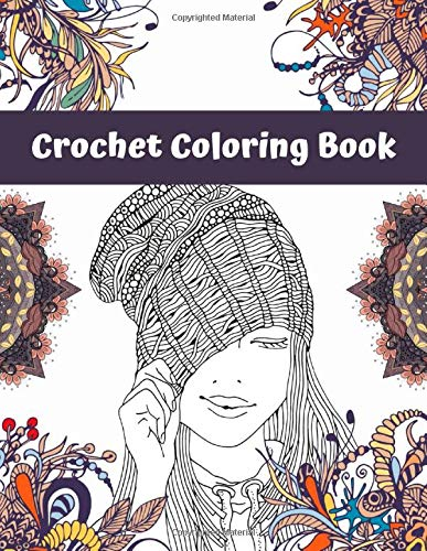 Crochet Coloring Book illustrated by Franklin Habit - crochet envy