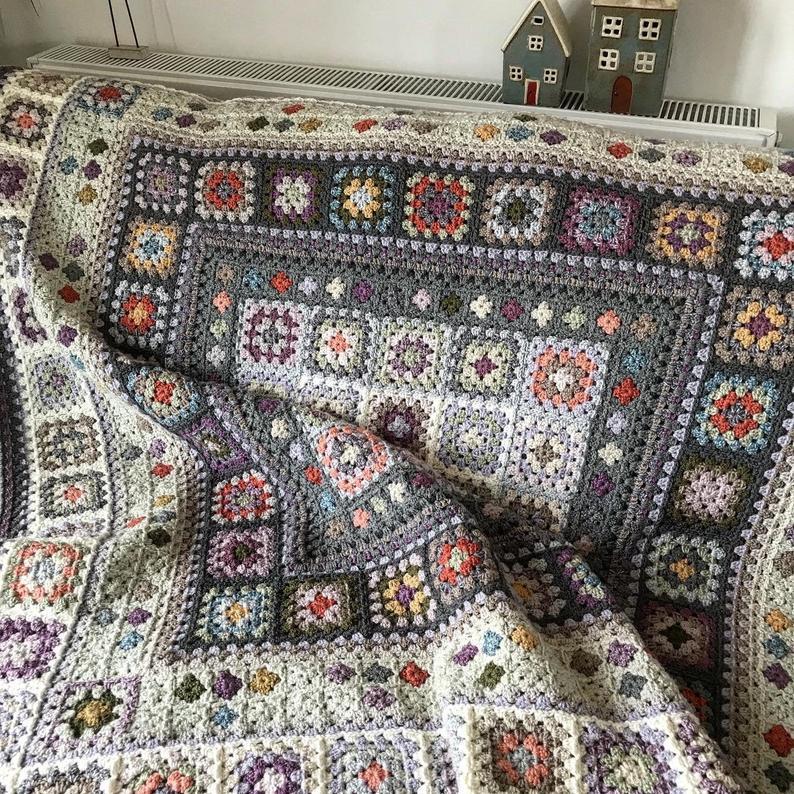 Beach Walk Blanket Crochet Pattern