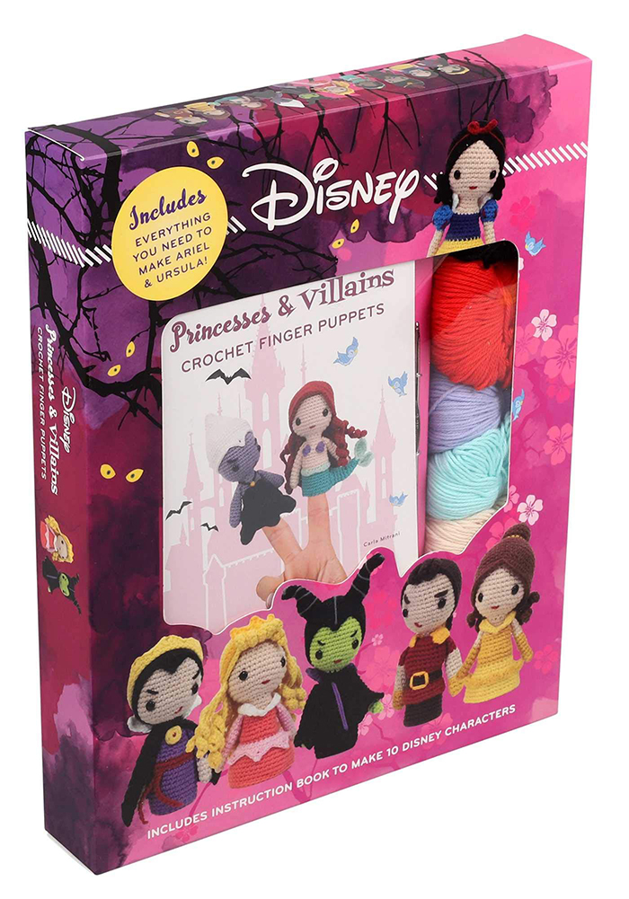 Disney Crochet Finger Puppets