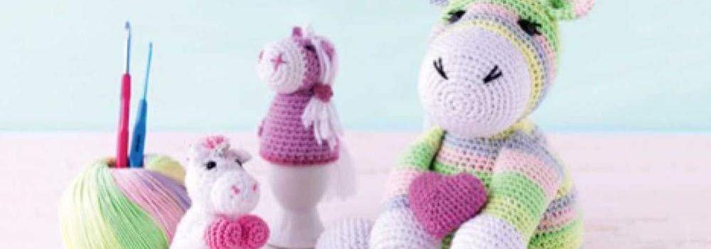 Unicorn Crochet: 50 Totally Cute Projects! by Katja Gradt