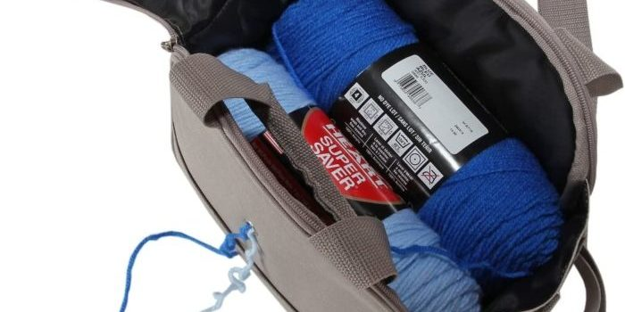 Portable Canvas Yarn Bag